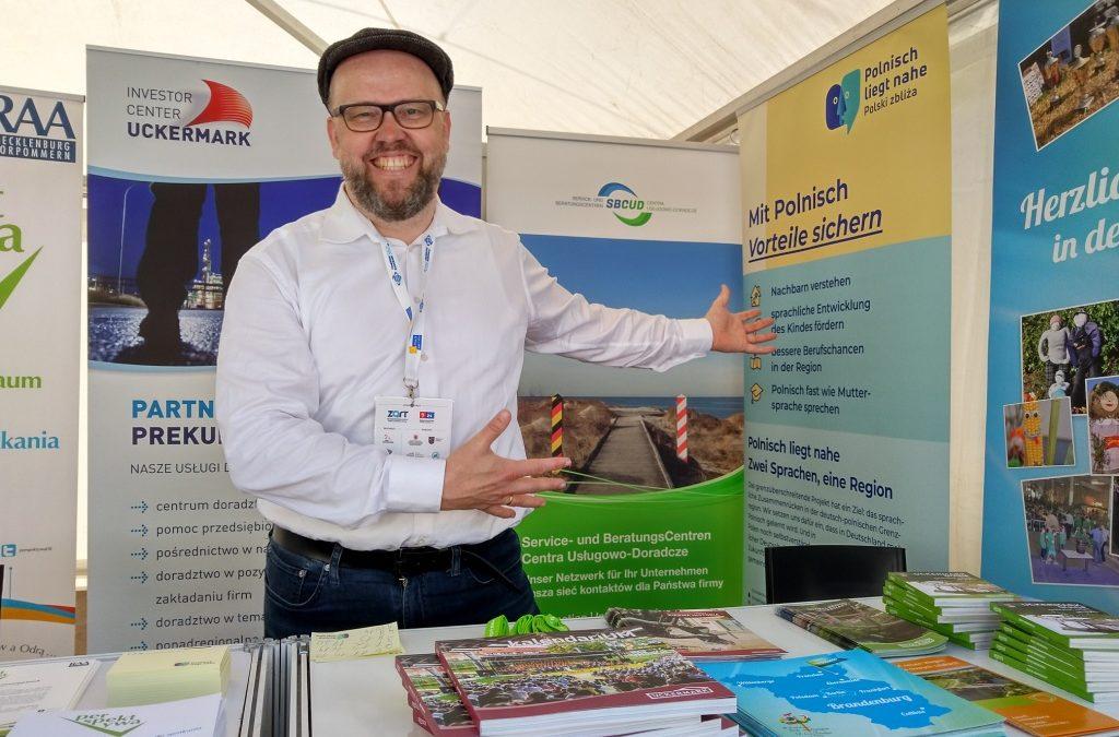 Brandenburg als lebenswerter Raum auf der Messe Market Tour in Szczecin