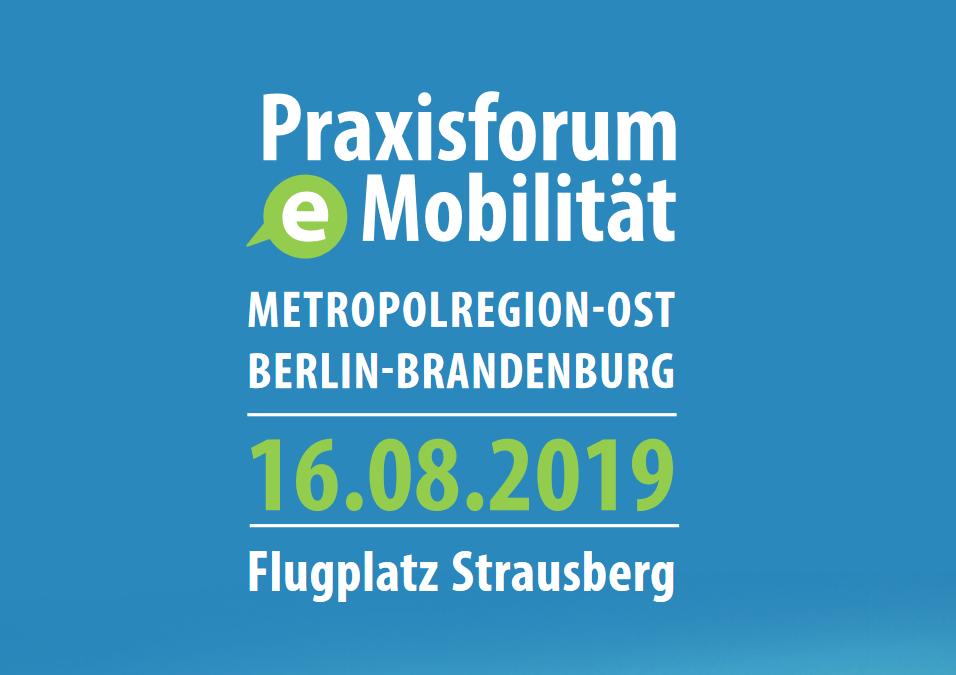 2. Praxisforum E-Mobilität am Flugplatz Strausberg am 16.08.2019