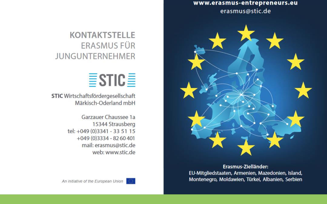 """SBC Strausberg kooperiert das Programm """"Erasmus für Jungunternehmer"""""""