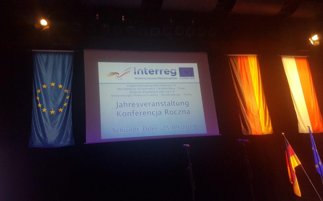 Centra Usługowo-Doradcze wEuroregionie Pomerania nadorocznej konferencji orazEC-Day 2019 Programu Współpracy Interreg VA Meklemburgia-Pomorze Przednie / Brandenburgia / Polska