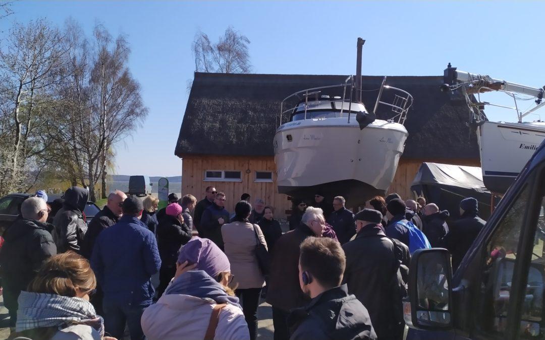 Kooperation zwischen dem SBC Greifswald und der Wirtschaftsfördergesellschaft Vorpommern mbH (WFG)