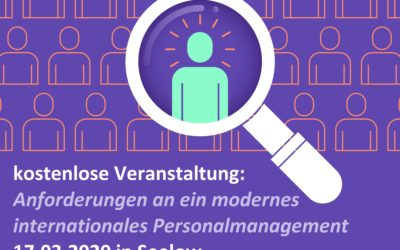 """DE-PL Unternehmensforum """"Anforderungen an ein modernes internationales Personalmanagement"""""""