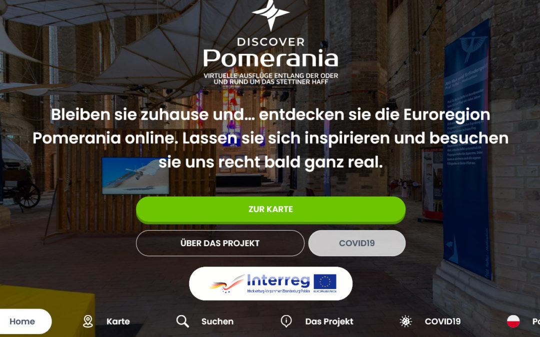 Wirtualne podróże wzdłuż Odry iwokół Zalewu Szczecińskiego