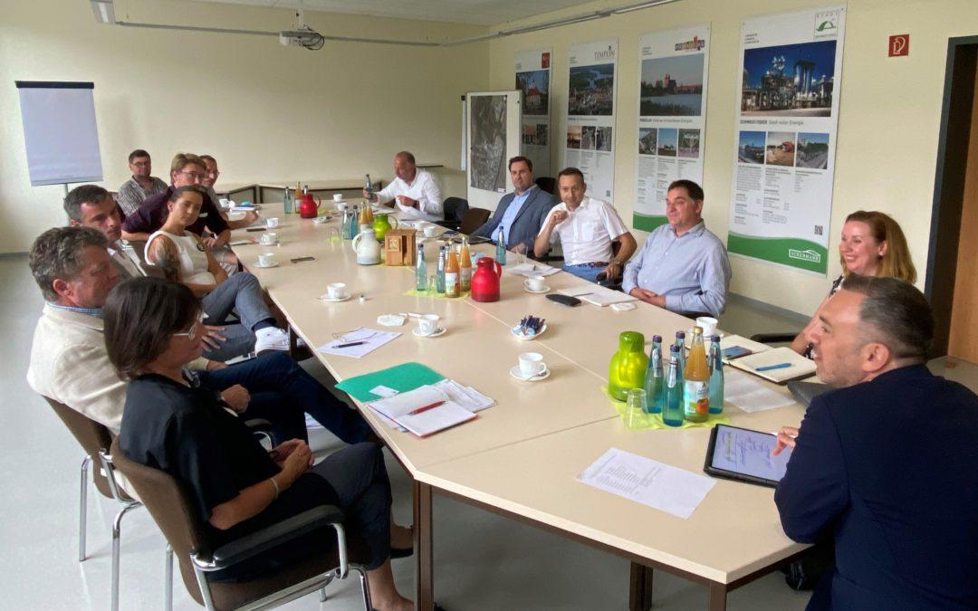Grünen-Abgeordneter auf Sommertour an der deutsch-polnischen Grenze